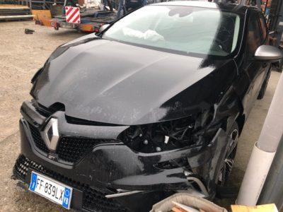 Auto Incidentate Renault Megane Piemonte