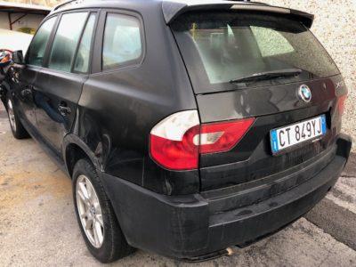 Ritiro Auto Sinistrate BMW X3 Trentino Alto Adige
