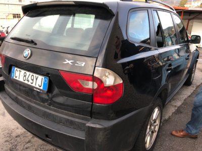 Ritiro Auto Incidentate BMW X3 Trentino Alto Adige