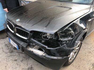 vendo auto incidentata