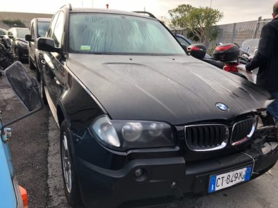 Auto Incidentate BMW X3 Trentino Alto Adige