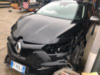 Renault Megane Incidentata, Renault Sinistrata