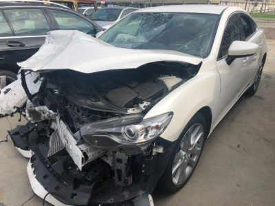 Mazda 6 Incidentata