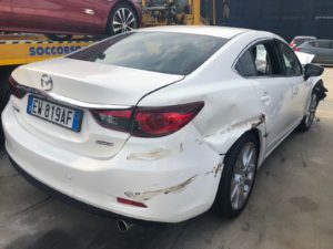 Mazda 6 Incidentata