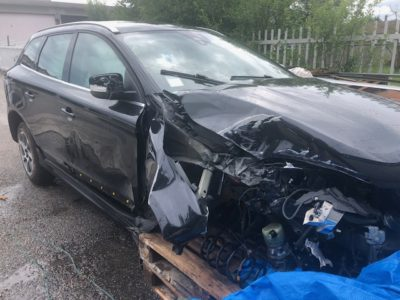 Volvo XC60 Incidentata