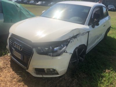 Audi A1 Incidentata
