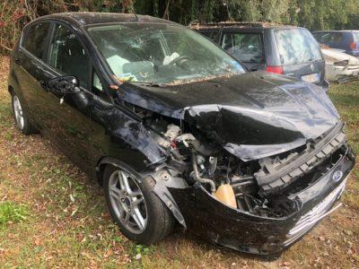 Ford Fiesta incidentata
