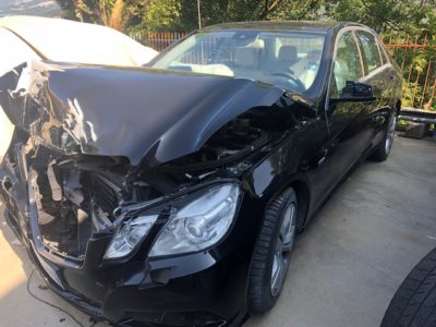 Mercedes E220 CDI Incidentata